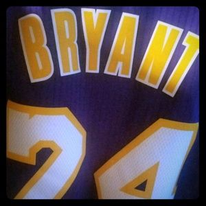XL NBA Official Kobe Bryant Lakers Jersey